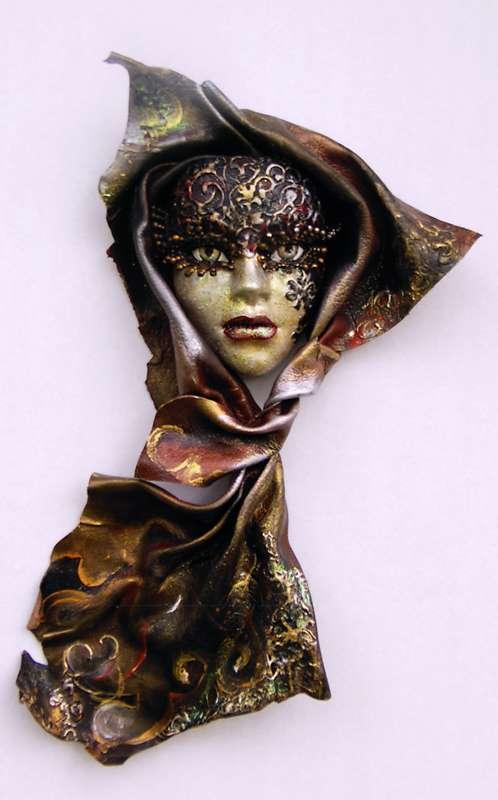 Idei pentru decorarea camerei: sase poze cu masti venetiene - Poza 4