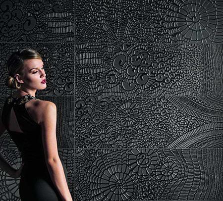 Arta contemporana in decorarea locuintei. Gresie si faianta texturata - Poza 4
