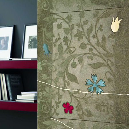 Arta contemporana in decorarea locuintei. Gresie si faianta texturata - Poza 5