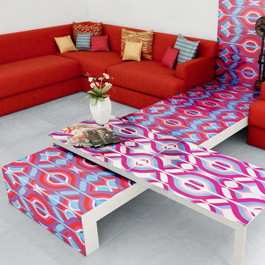 Galerie foto: sase idei fascinante de decorare a locuintei cu gresie si faianta - Poza 1