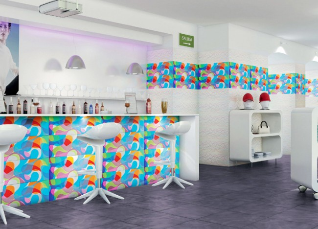 Galerie foto: sase idei fascinante de decorare a locuintei cu gresie si faianta - Poza 3