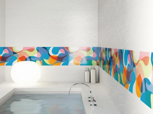 Galerie foto: sase idei fascinante de decorare a locuintei cu gresie si faianta - Poza 5
