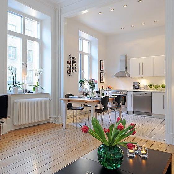 Cum poti sa dublezi spatiul din apartamentul de bloc? Idei deosebite pentru o amenajare open space - Poza 1