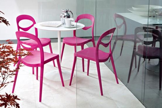 Idei simple pentru o bucatarie mai vesela: scaune coloarte - Poza 3