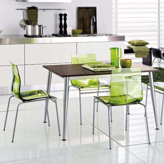 Idei simple pentru o bucatarie mai vesela: scaune coloarte - Poza 4