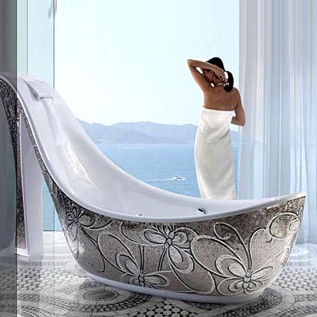 Secretul Cenusaresei ascuns in baie: cazi de lux in forma de pantof (galerie foto) - Poza 2