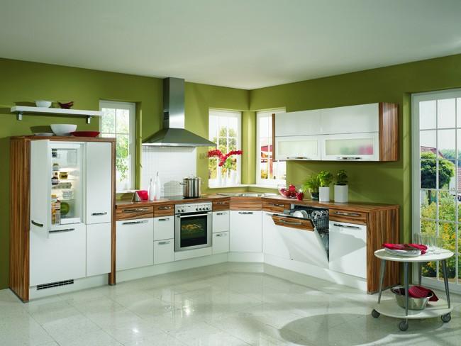Inspiratie: mobila de bucatarie ca un tablou fascinant - Poza 1