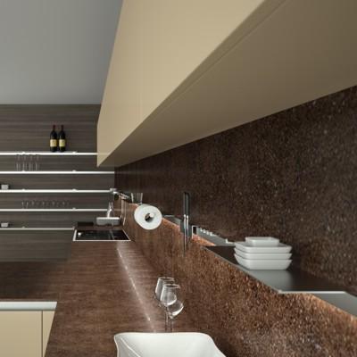 Accesoriile, sarea si piperul mobilei de bucatarie in stil minimalist - Poza 1