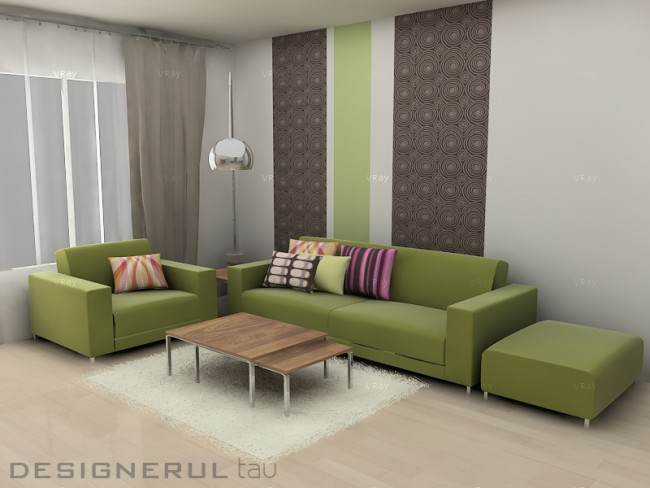 Contraste cromatice. Cum poti sa amenajezi un apartament vesel jucandu-te cu cateva culori - Poza 1