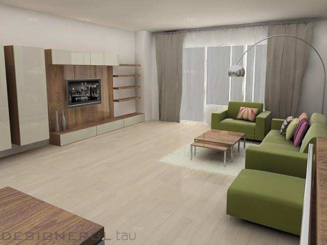 Contraste cromatice. Cum poti sa amenajezi un apartament vesel jucandu-te cu cateva culori - Poza 2