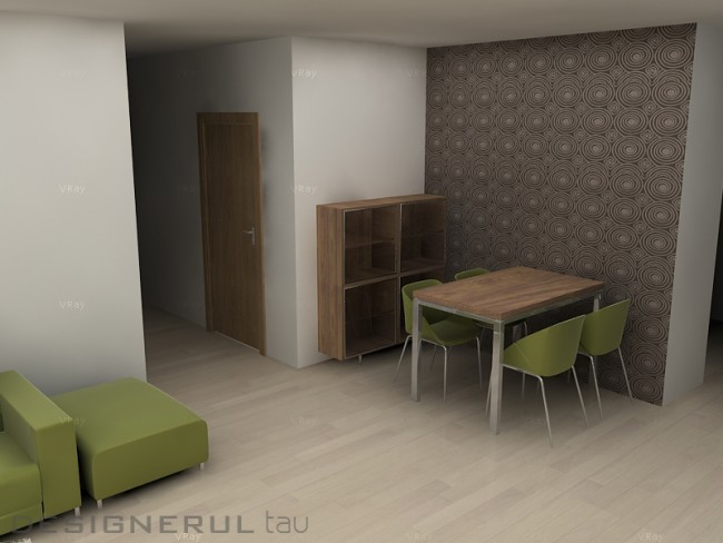 Contraste cromatice. Cum poti sa amenajezi un apartament vesel jucandu-te cu cateva culori - Poza 3