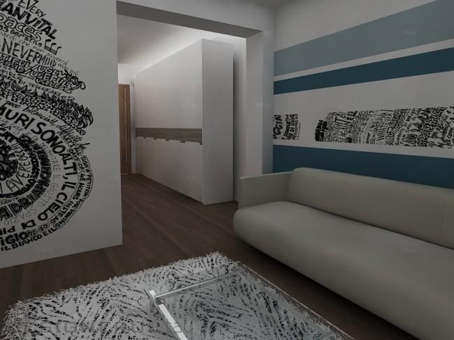 Contraste cromatice. Cum poti sa amenajezi un apartament vesel jucandu-te cu cateva culori - Poza 6