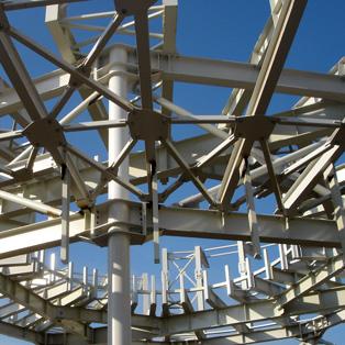 Energie verde: structuri metalice pentru sustinerea panourilor fotovoltaice - Poza 1