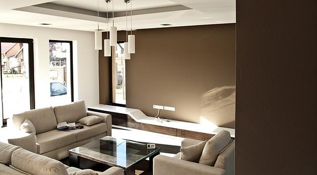 Spatii largi, design interior aerisit: un ansamblu dining-living reusit. Galerie foto - Poza 2