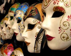 Idei pentru decorarea camerei: masti venetiene - Poza 1