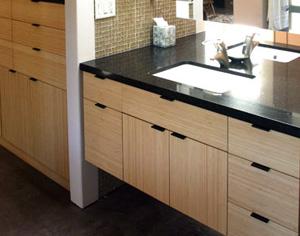 Dulapul din baie, suport pentru chiuveta si spatiu de depozitare - Poza 1
