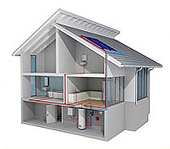 Panouri solare montate pe acoperis, podea, fatade sau garduri! Apa calda menajera, 365 zile din an - Poza 1