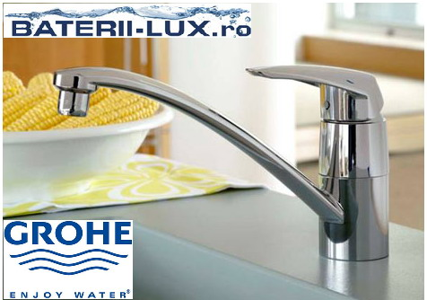 Baterii bucatarie Grohe Eurodisc - design chic si maner dinamic - Poza 1