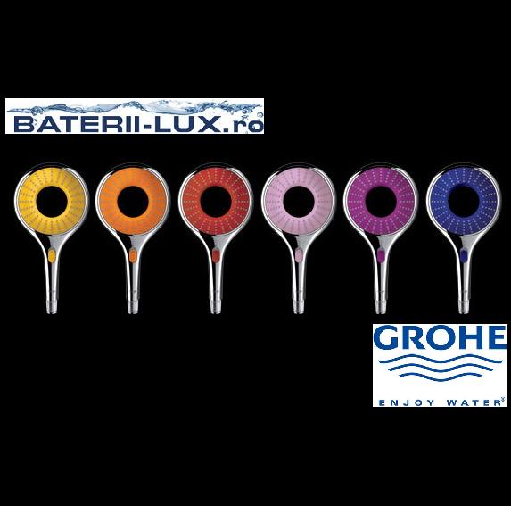 Pare de dus colorate Grohe Rainshower WaterColours - Poza 1