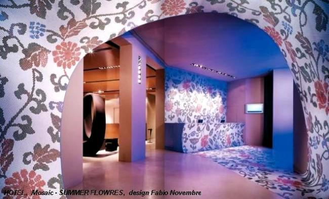 Mozaic decorativ - Aplicatie pe viu organizata de Bisazza in premiera in Romania - Poza 2