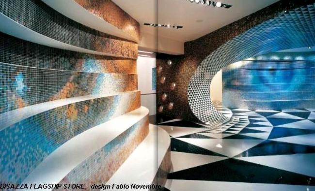 Mozaic decorativ - Aplicatie pe viu organizata de Bisazza in premiera in Romania - Poza 3