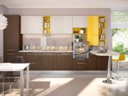 Mobila de bucatarie moderna intr-un design personalizat