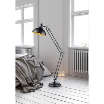 Lampadar Trio Salvador, înălțime 180 cm, negru