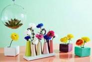 Design in culori si linii delicate pentru accesoriile de flori