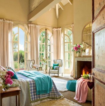 Eleganta unui dormitor in fermecatorul stil vintage