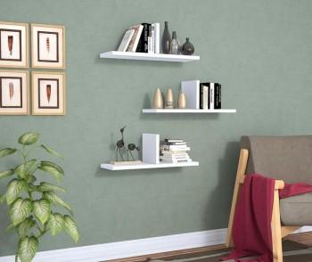 1. Adaugă niște rafturi simple de perete