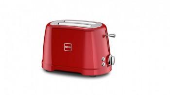 Toaster 2 sloturi, 4 funcții, Novis T2 roșu