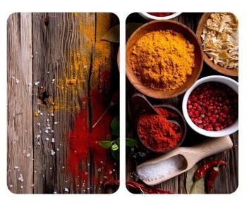 Set 2 planse protectoare pentru plita Spice