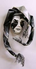 Idei pentru decorarea camerei: sase poze cu masti venetiene