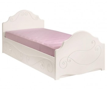 Cadru de pat pentru copii cu extensie tip sertar Alice